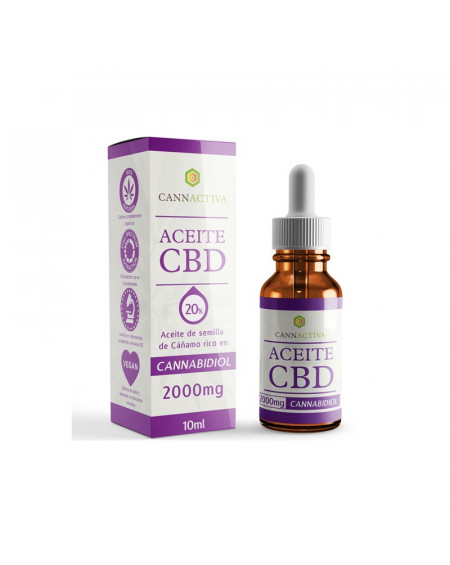 ACEITE CBD CANNABIDIOL 20% 10 ML CANNACTIVA