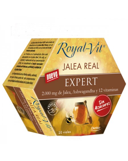 Dietisa Royal Vit Jalea Real EXPERT 20 viales x 10 ml