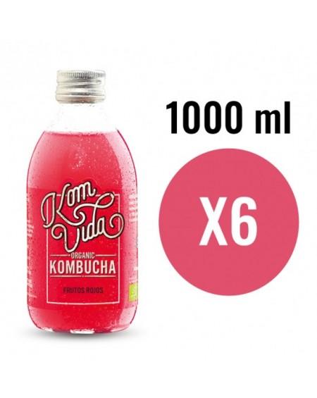 PACK KOMVIDA SABOR BERRYVIDA 6X1000 ml