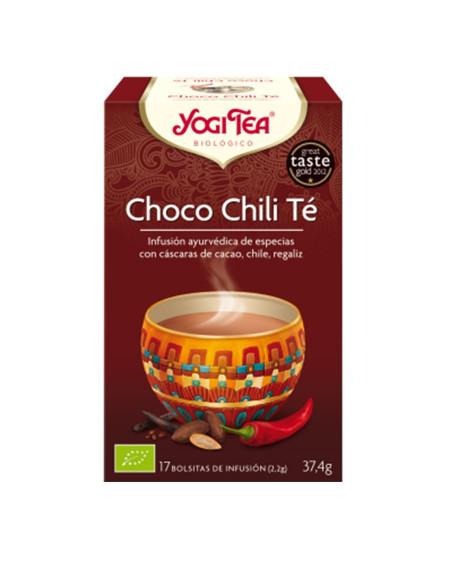YOGI TEA CHOCO CHILI TÉ (17 BOLSITAS)
