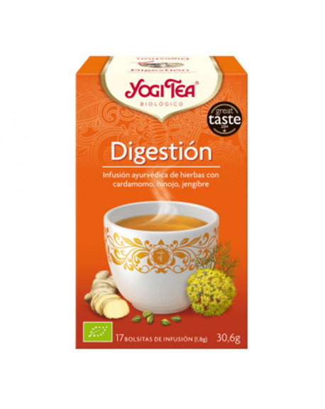 YOGI TEA DIGESTION Especias e infusiones YogiTea