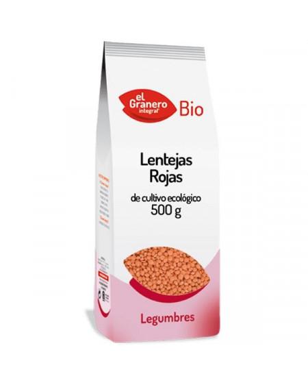 LENTEJAS ROJAS BIO - 500 G