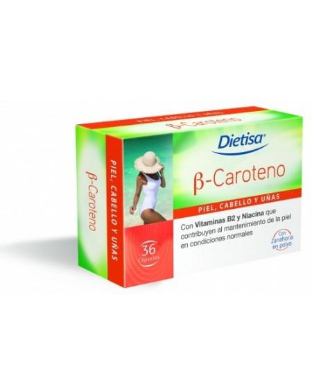 Dietisa Capsulas Betacaroteno